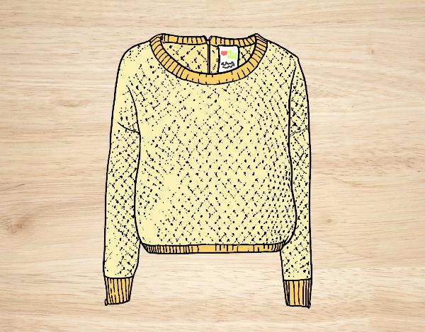Dibujo Suéter de lana pintado por AmaiMei