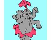 Elefante bailando