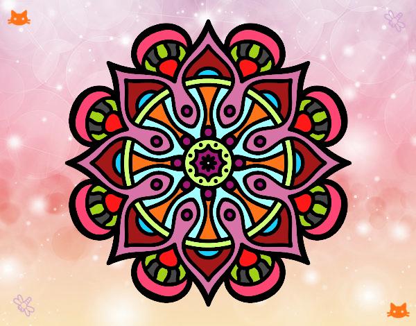 Mandala mundo árabe