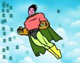 Superman volando