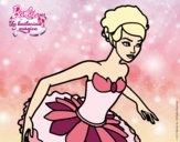 Dibujo Barbie en reverencia pintado por lisaja