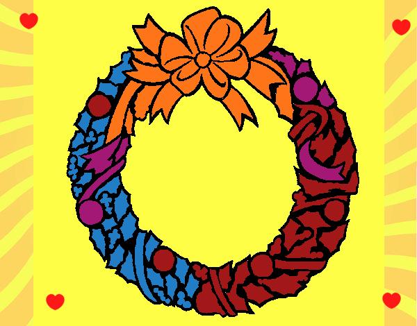 Corona de navidad 1