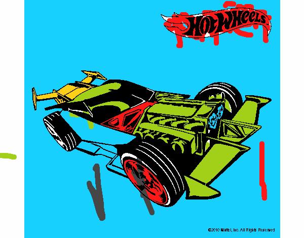 Dibujo de hot wheels 9 pintado por en el d a 02 04 17 a las 22 11 58 imprime pinta for 9 salon de hot wheels