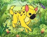 Una hiena