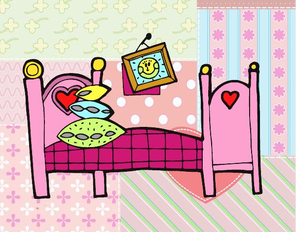 Dormitorio Dibujo ~ Dibujo de Dormitorio pintado por en Dibujos net el día 05 04 17 a las 05 07 22 Imprime, pinta o