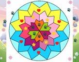 Dibujo Mandala 29 pintado por zaraypro