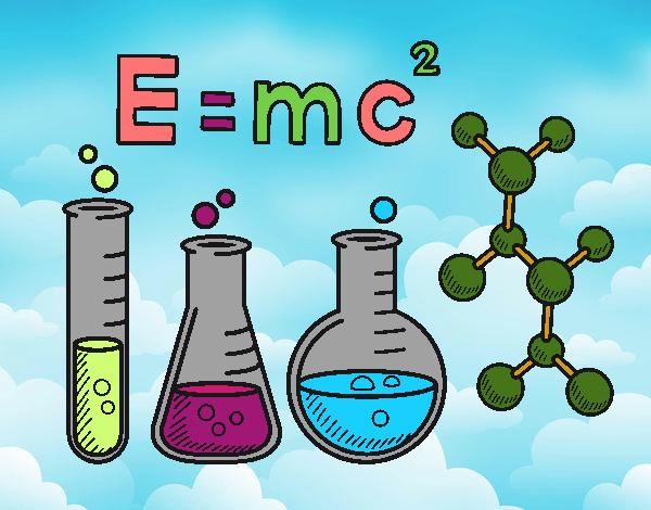 Dibujo De Clase De Química Pintado Por En Dibujos.net El