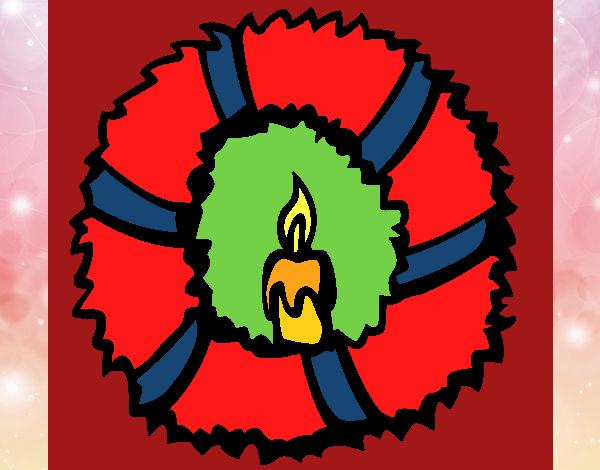 Corona de navidad II
