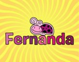 Dibujo Fernanda pintado por gogy