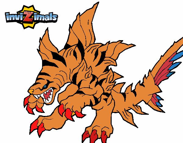 Dibujo de Tigershark pintado por en Dibujosnet el da 110417 a