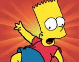 Dibujo Bart 2 pintado por Joer