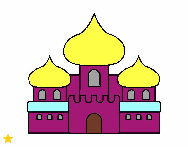 Dibujo Castillo árabe pintado por Osiita