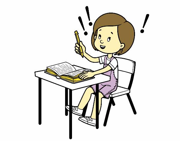 Examen de colegio