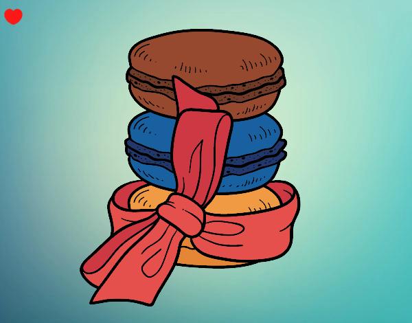 Dibujo Macarons pintado por EESganer