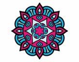 Dibujo Mandala vida vegetal pintado por zzzzzzz