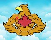 Dibujo Super ave pintado por raquelloki