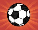 Dibujo Balón de fútbol pintado por Joer