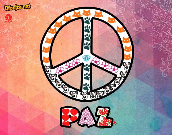 la paz es un signo importante