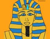 Dibujo Tutankamon pintado por Joer