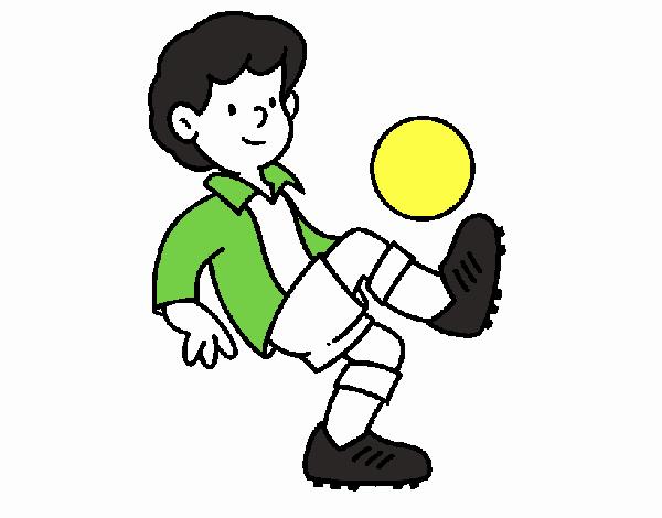 Dibujo De Fútbol Pintado Por Fustapa13 En Dibujos Net El: Dibujo De Fútbol Pintado Por En Dibujos.net El Día 16-05