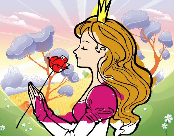 Princesa en el bosque