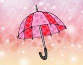 Dibujo Un paraguas pintado por Sara3600