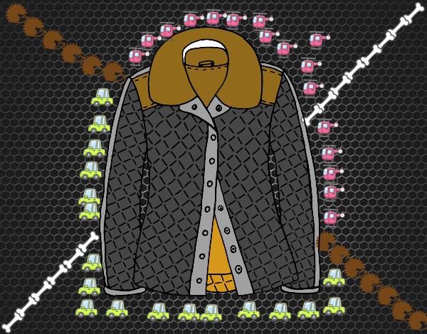 Dibujo Una chaqueta pintado por marlonyzuu