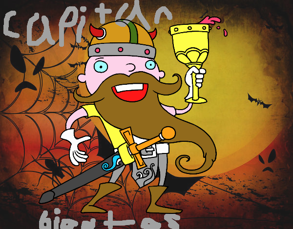 Vikingo celebrando
