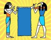 Cleopatra y Thot