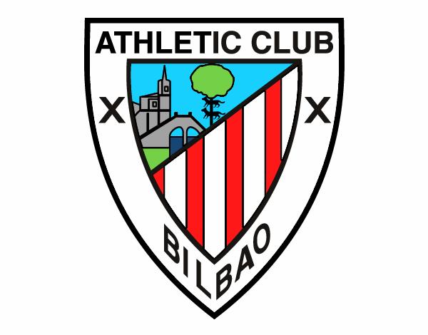 Dibujo de Escudo del Athletic Club de Bilbao pintado por ...