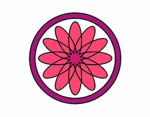 34 Mandalas Para Imprimir Y Colorear: Dibujo De Mandala 34 Pintado Por En Dibujos.net El Día 23