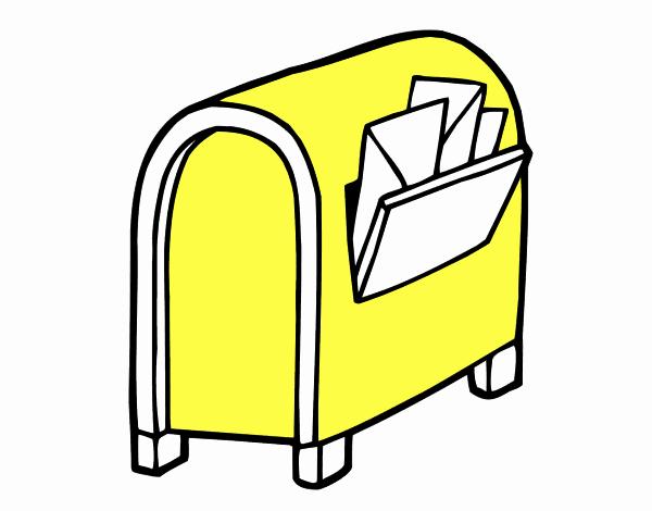 Buzón con cartas