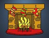 Chimenea de Navidad