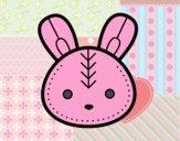 Cara de conejito de Pascua