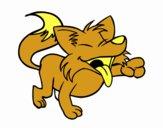 Coyote riendo