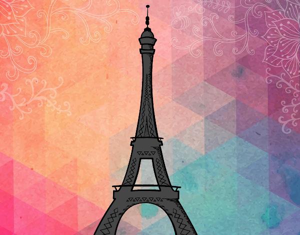 Torre Ifel En Dibujo