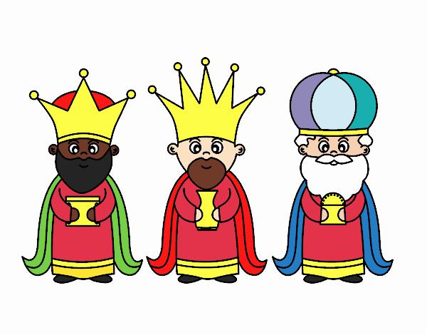 Los Reyes Magos Dibujos
