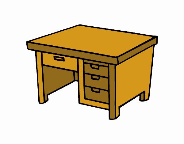 Dibujo de mesa de escritorio pintado por valentino5 en el d a 19 06 17 a las 00 52 - Mesas de dibujo ...