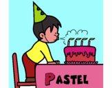 Pastel de cumpleaños III