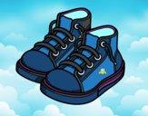 Dibujo Zapatillas de niño pintado por mariac127