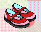 Dibujo Zapatos de niña pintado por mariac127