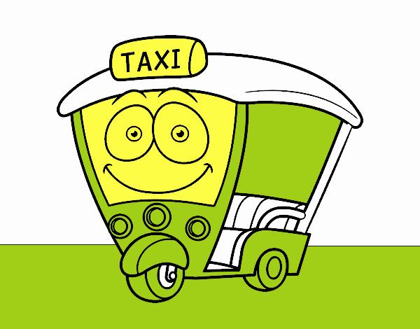 Dibujo de Moto  Taxi pintado por en Dibujosnet el da 260617 a