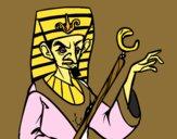 Faraón enfadado
