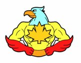 Dibujo Super ave pintado por keonii