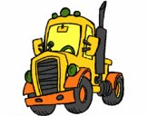 Dibujo Tractor pintado por marcostano