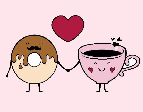 Amor entre dónut y té