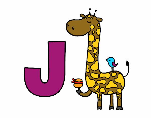 J de Jirafa
