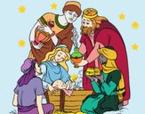 Dibujo Nacimiento pintado por Ramon45