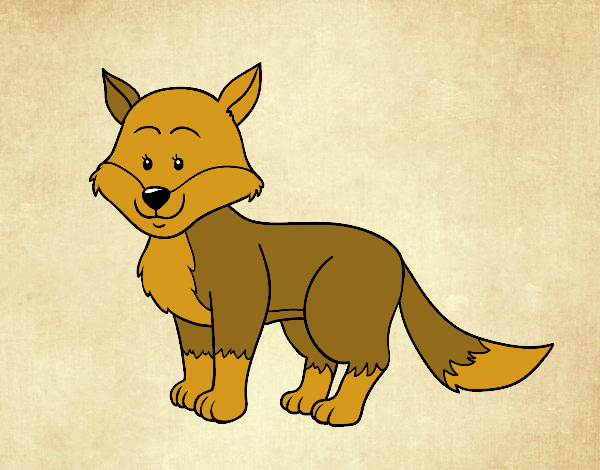 Dibujo Un zorro pintado por marcostano