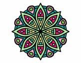 Dibujo Mandala para la concentración pintado por isabel2k